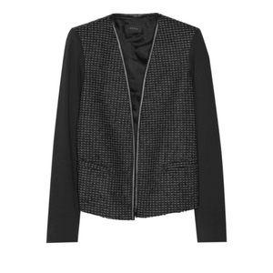 Theory 4 S Jacinth Perennial Tweed Jacket